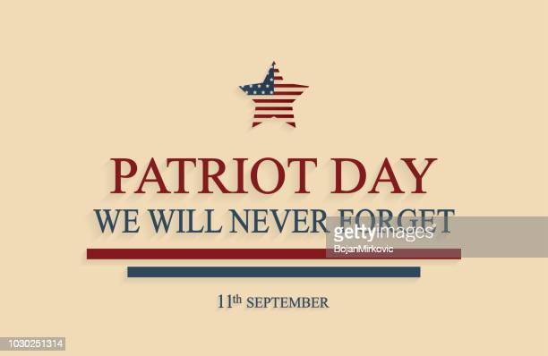 patriot day poster, 9/11. we will never forget. vector illustration. - legal document stock illustrations, clip art, cartoons, & icons