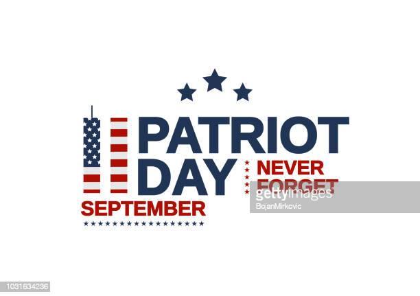 愛国者日アメリカ合衆国ポスター、9 月 11 日。決して忘れない。ベクトルの図。 - 数字の11点のイラスト素材/クリップアート素材/マンガ素材/アイコン素材
