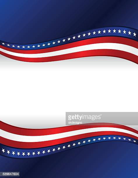 patriotic background: red, white, blue with stars, stripes - red white blue background stock illustrations