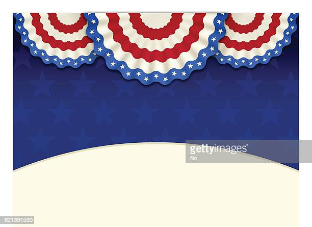 usa patriotic background - red and blue background stock illustrations