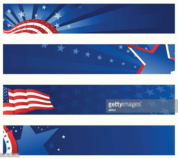 banner con bandiera