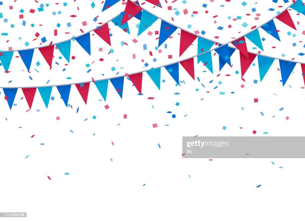 Sfondo celebrazione patriottica USA : Illustrazione stock