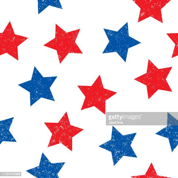 patriotic stars pattern - politics background stock illustrations
