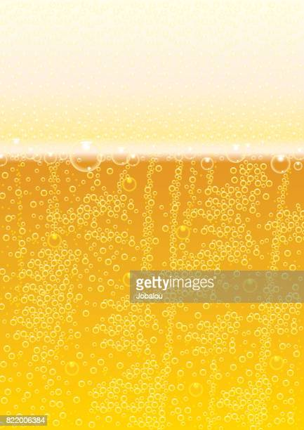 pattern background bubble beer - lager stock illustrations, clip art, cartoons, & icons