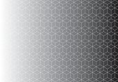 Pattern black and white background seamless pattern cubes.