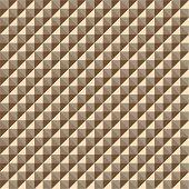 Pattern from of  volume goldish rhombuses