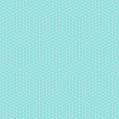 Pattern geometric line cube square seamless luxury design green aqua colors background.