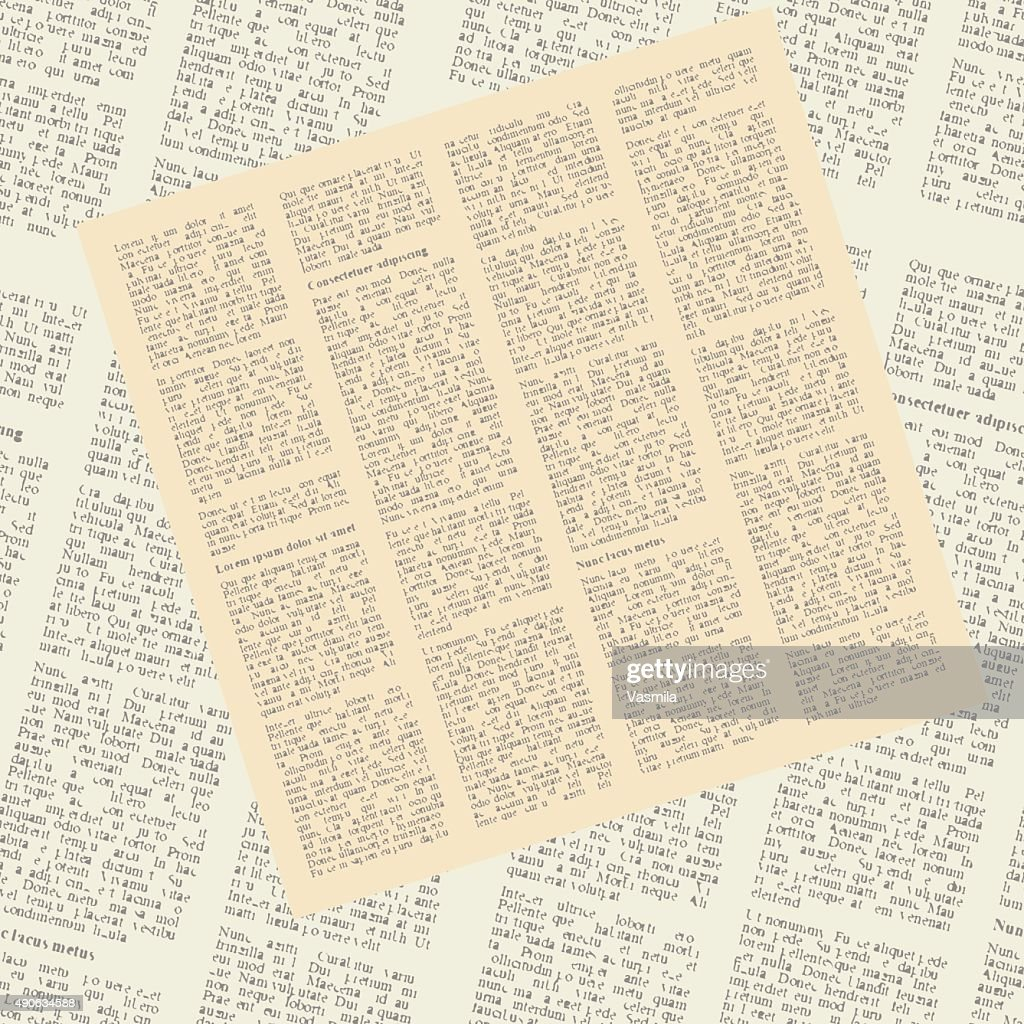 pattern of newspapers