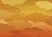 Pattern of the kimono