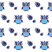 pattern owl graphic cartoon emotion