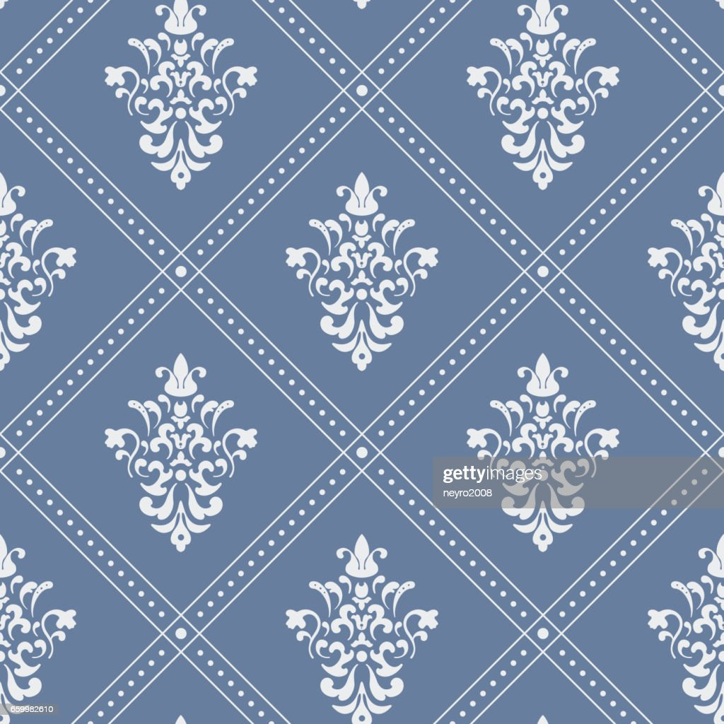 Pattern seamless baroque