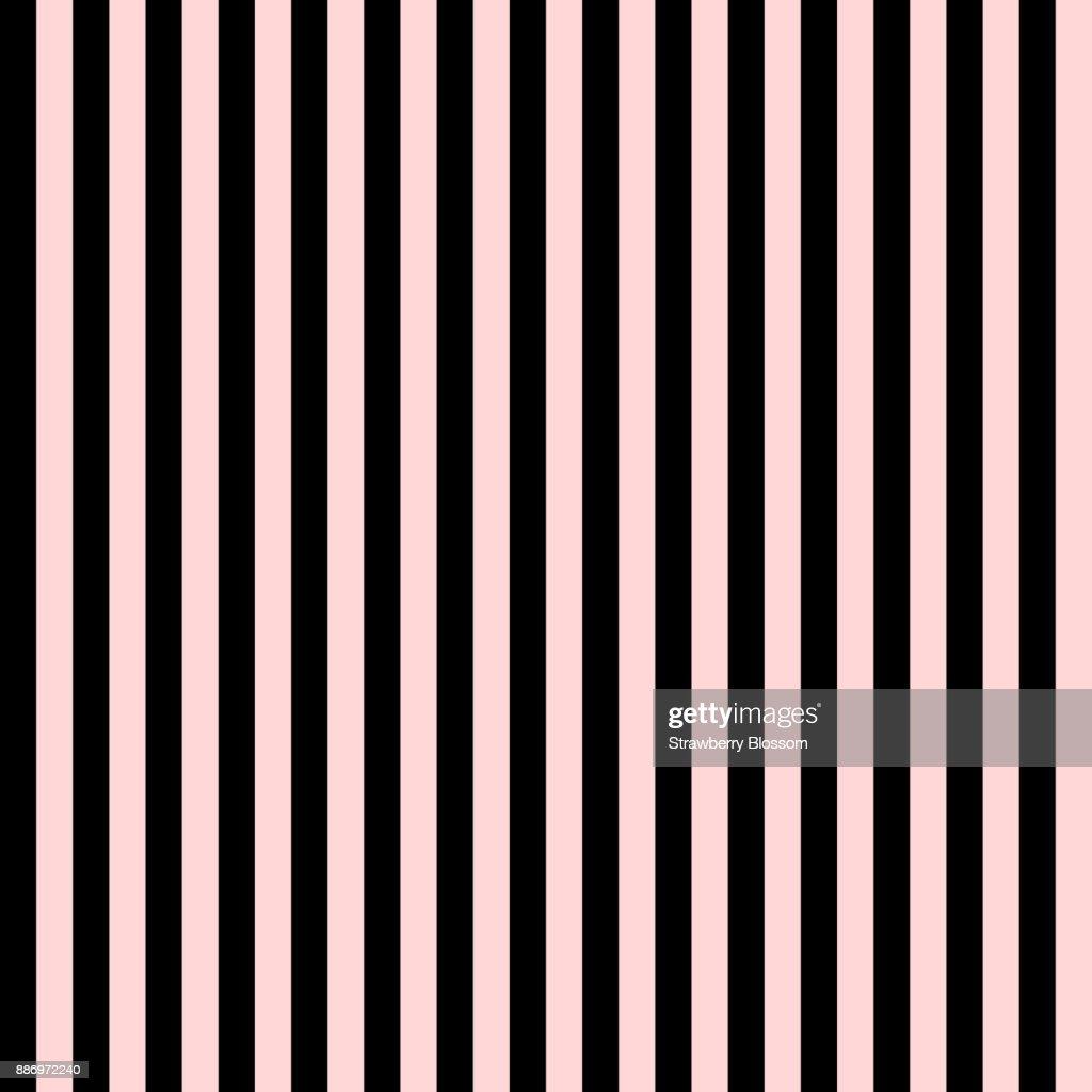 Muster Nahtlos Streifen Vertikal Rosa Und Schwarzen Farben Valentine ...