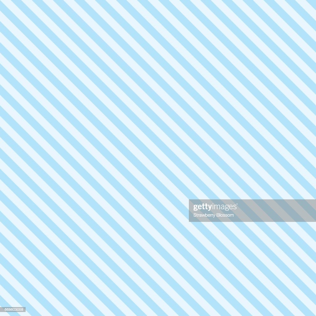 Pattern stripe seamless sweet blue two tone colors. Diagonal stripe abstract background vector.