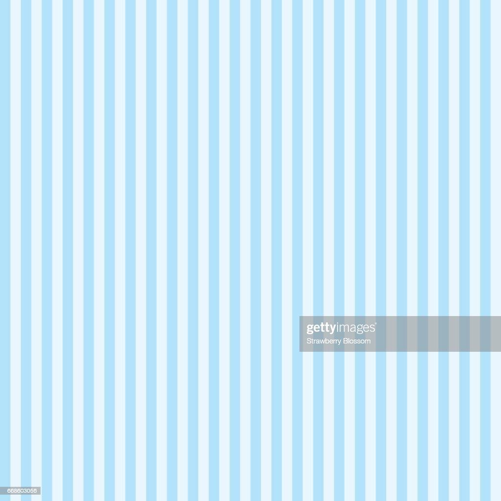 Pattern stripe seamless sweet blue two tone colors. Vertical stripe abstract background vector.