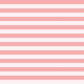 Pattern stripe seamless sweet pink two tone colors. Horizontal stripe abstract background vector.