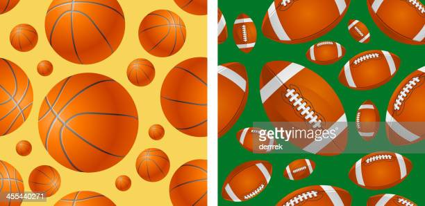pattern - rugby ball stock illustrations, clip art, cartoons, & icons