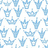 Pattern with crowns