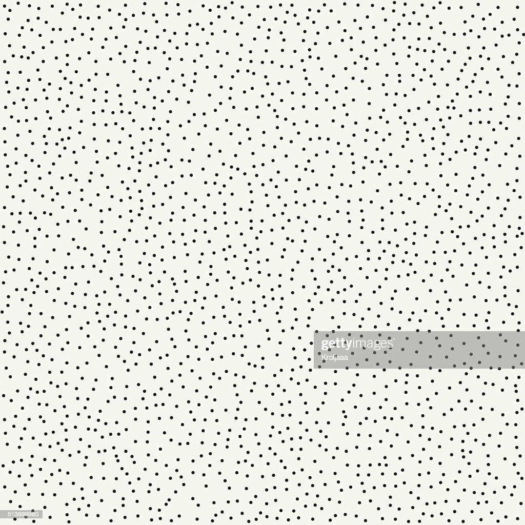 Pattern with dotted circle. Graphic texture with randomly disposed spots.