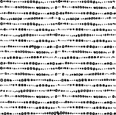 Pattern with dotted lines.