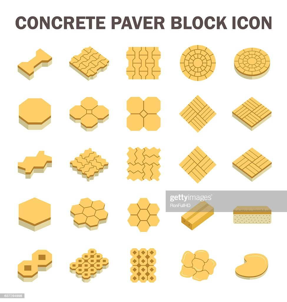 Paver Block Icon