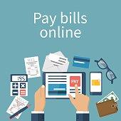 Pay bills online.