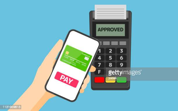 Payment from smartphone to pos terminal using NFC technology