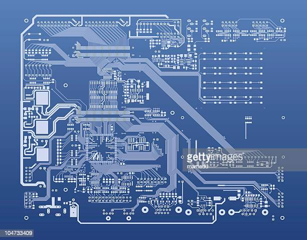 pcb - 回路基板点のイラスト素材/クリップアート素材/マンガ素材/アイコン素材