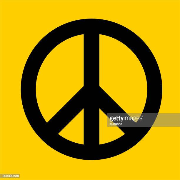 peace sign. - peace sign stock illustrations, clip art, cartoons, & icons