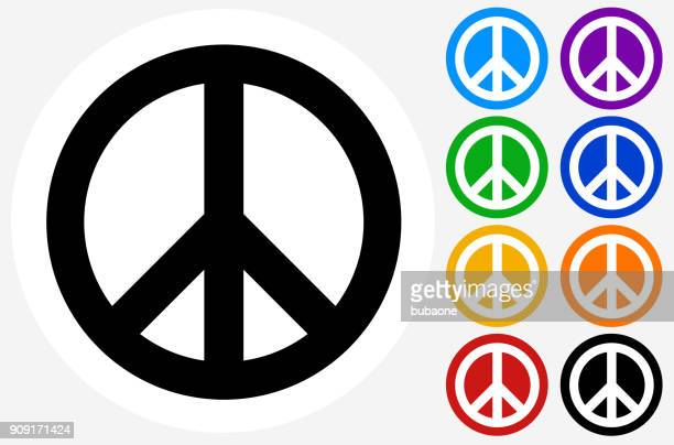 peace sign. - symbols of peace stock illustrations