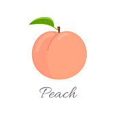 Peach icon with title