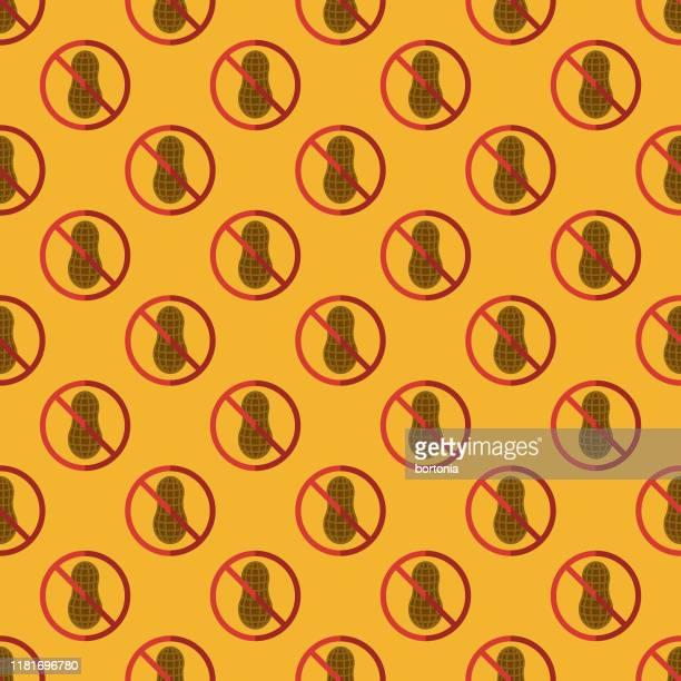 ピーナッツ食品アレルギーパターン - アレルギー点のイラスト素材/クリップアート素材/マンガ素材/アイコン素材