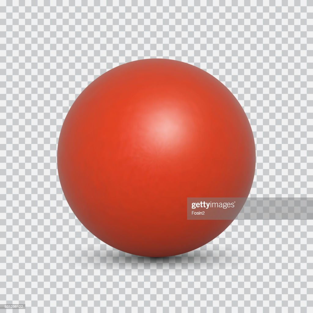 Pearl realistic isolated on transparent background