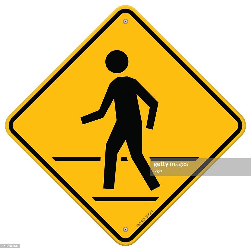Pedestrian Traffic Sign