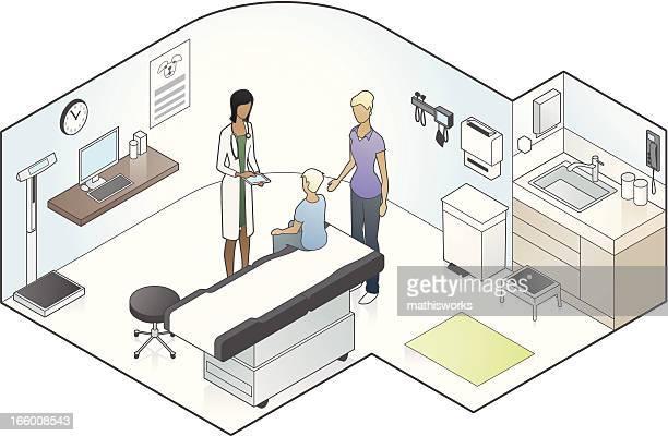 Pediatrician Illustration