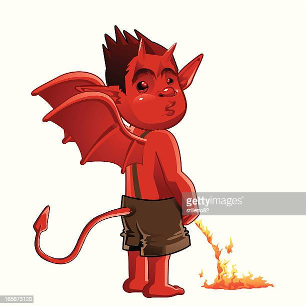 The devil piss in the fire