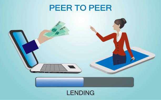 peer to peer lending vector