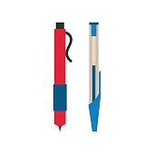 Pen vector illustration design.