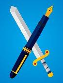 Pen vs Sword
