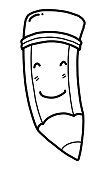 pencil cartoon