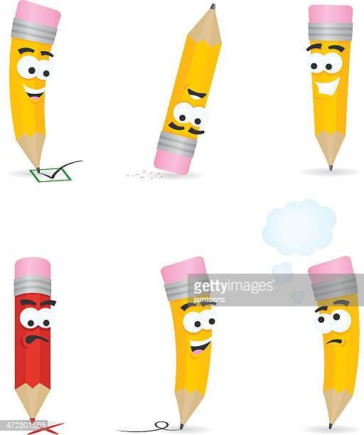 Pencil Cartoons