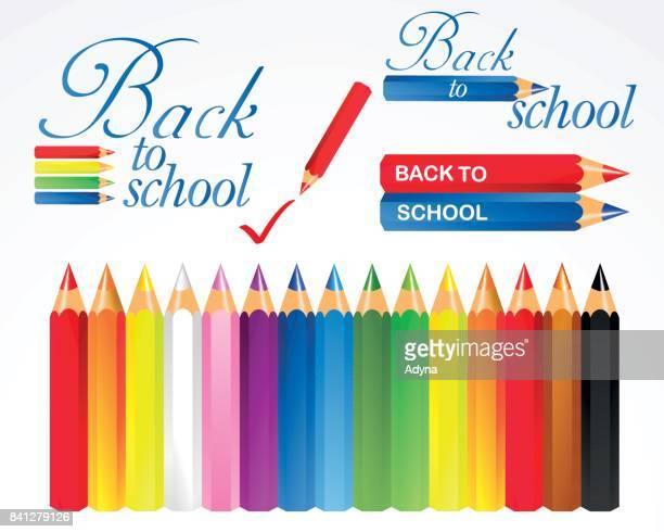 Pencil Crayon Elements