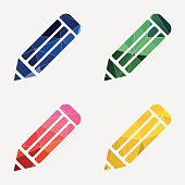 pencil icon Abstract Triangle
