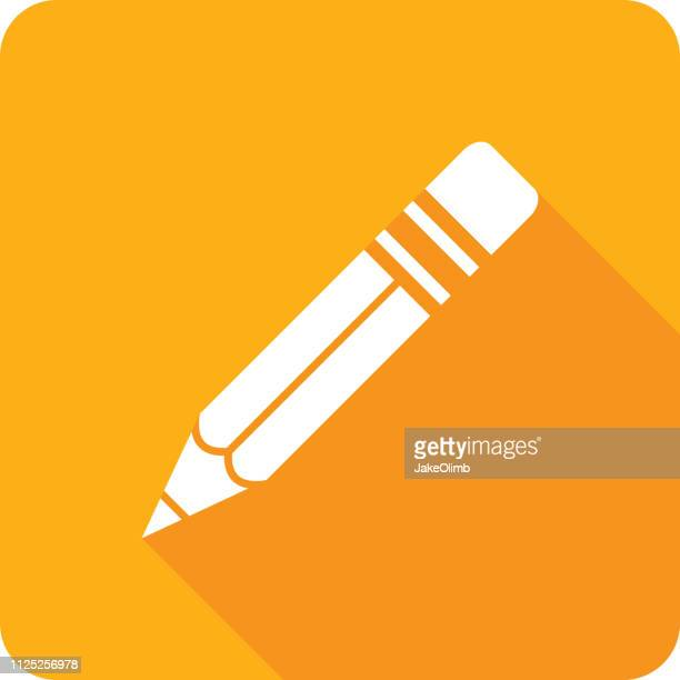 Pencil Icon Silhouette
