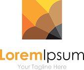 Pencil sharp writer inspiration element icons business logo