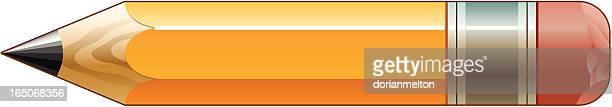 bleistift - bleistift stock-grafiken, -clipart, -cartoons und -symbole