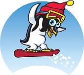 Penguin Snowboard