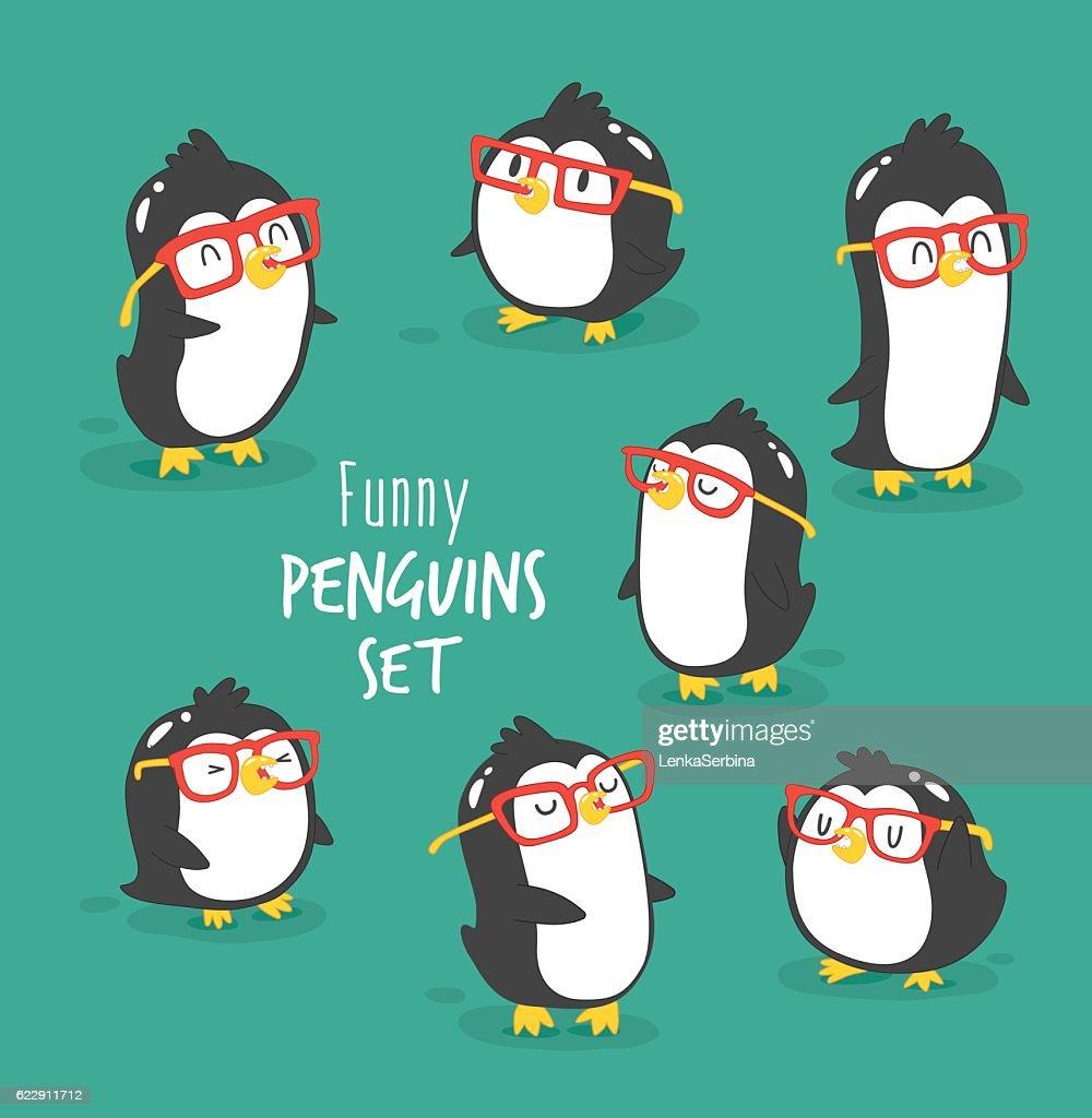 Penguins set