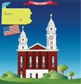 Pennsylvania and Franklin City
