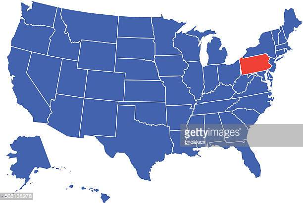Pennsylvania State Selected in USA