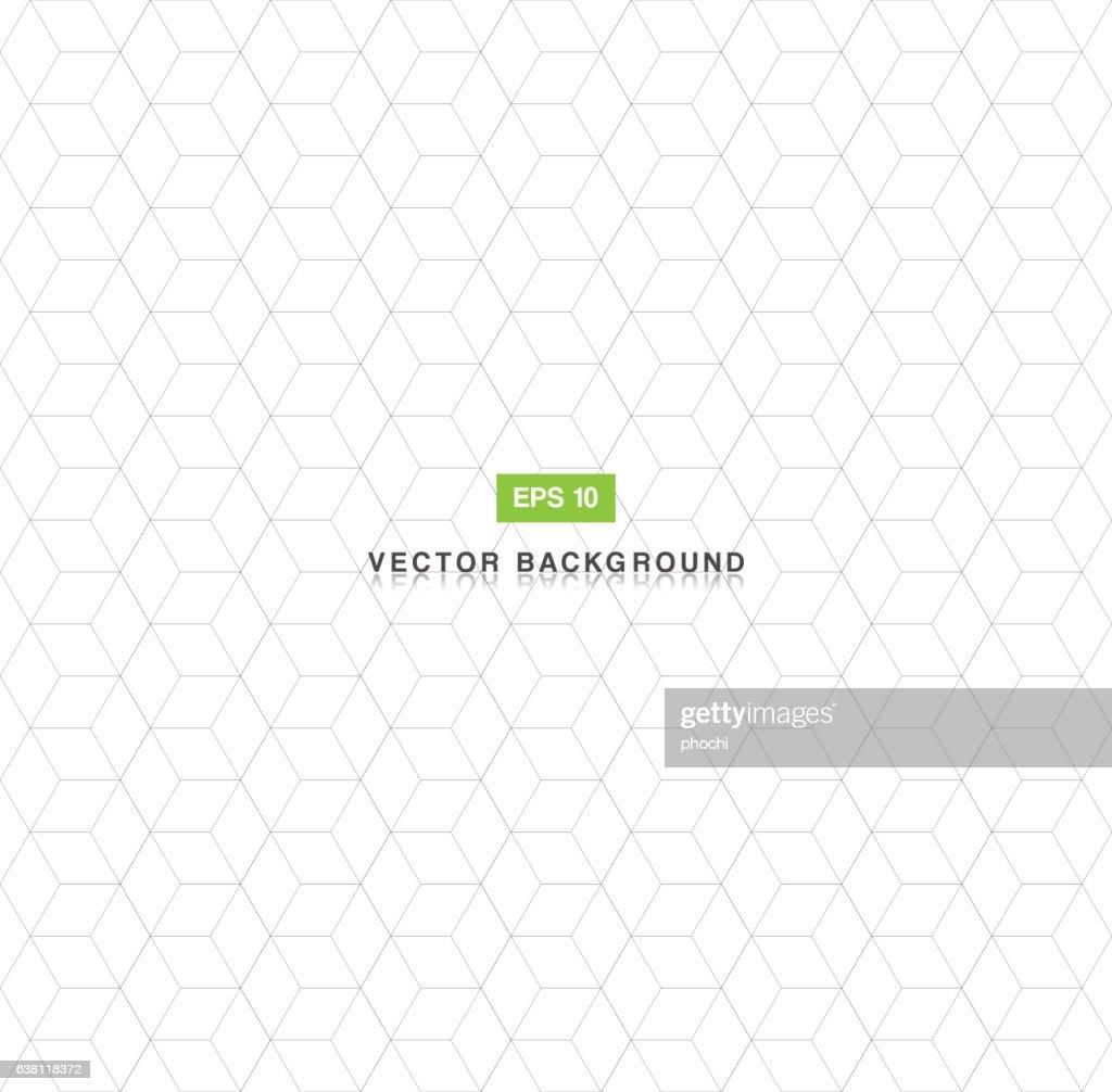 Pentagon seamless pattern abstarct background